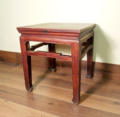 Authentic Antique Chinese Ming Meditation Bench 5249 Circa 1800 1849 Asian Bench