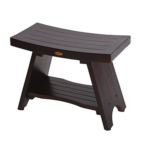 Serenity Asian Style 24u2033 Teak Shower Bench Stool u2013 Bathroom Spa Bath(Patent Pending)  sc 1 st  Asian Bench & Serenity Asian Style 24